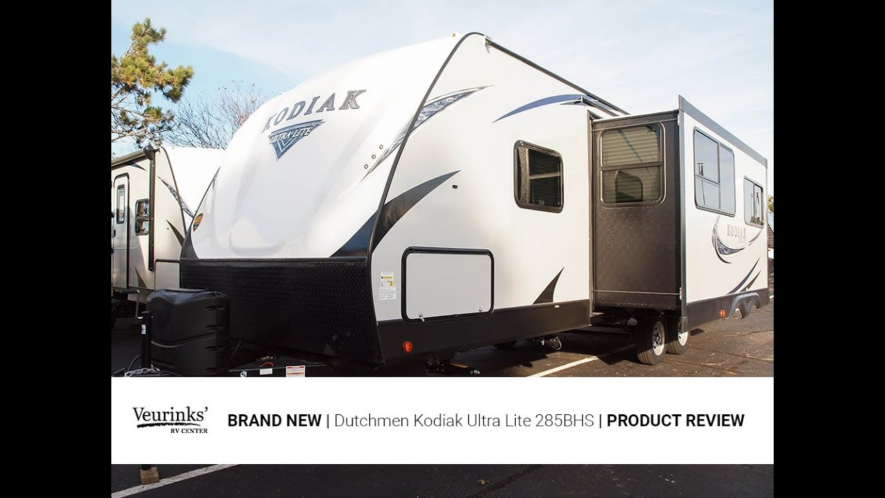 2018 Kodiak Travel Trailers Floor Plans 2018 Dutchmen Kodiak Ultra Lite 285bhs Bunk House Travel Trailer Veurinks Rv Center