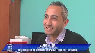 Ojeda Elecciones de la Com de Discapacidad con irregularidades