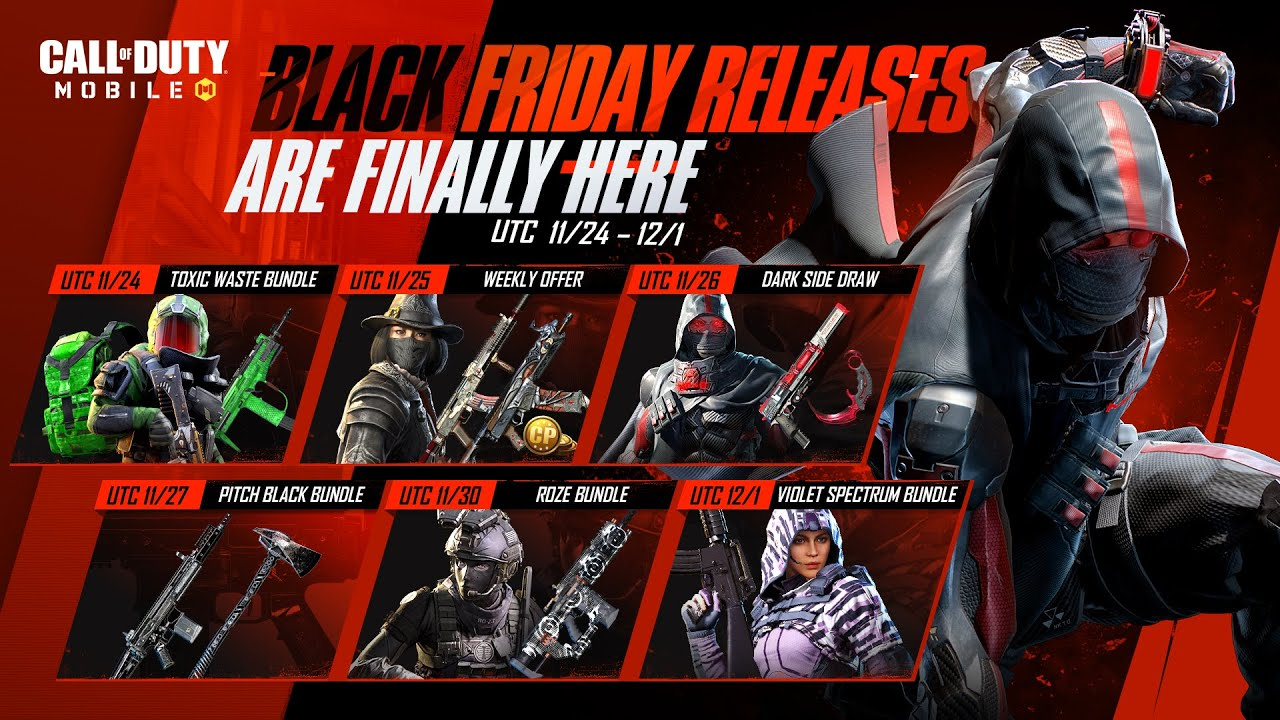 Call of Duty®: Mobile - Black Friday Week Releases