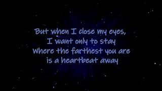 Bring Me the Night - (That brings me to you) Sam Tsui ft: Kina Grannis (W/Lyrics)