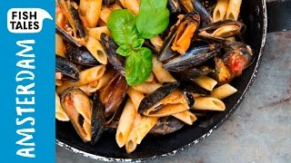 Mussels In Tomato Sauce Pasta | Bart's Fish Tales