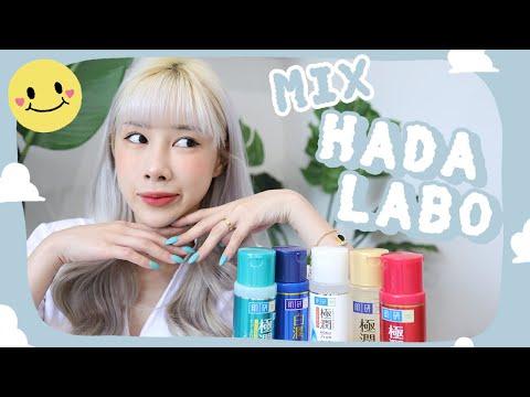 Mix & match Hadalabo 5 สูตร 9 แบบ ใช้แบบไหนตามผิวเรา ✨🤍 | ndmikkiholic ♡