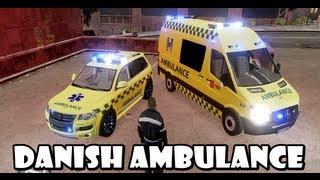 GTA IV : FDLC Script # 8 - Danish Ambulance Service