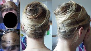 Cheveux lisses sans chaleur technique du Wrap