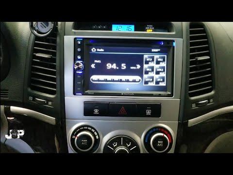 2007 Hyundai Santa Fe Radio Removal