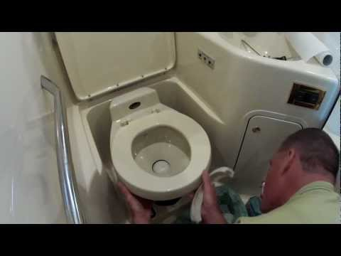 Boating How To - Vacuflush Marine Toilet Seal Replacement