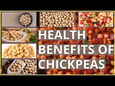 9 Shocking HEALTH BENEFITS OF CHICKPEAS