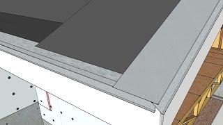 Drip Edge and Membrane
