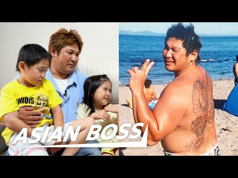 From Gang Leader To Single Father In Japan | ASIAN BOSS
