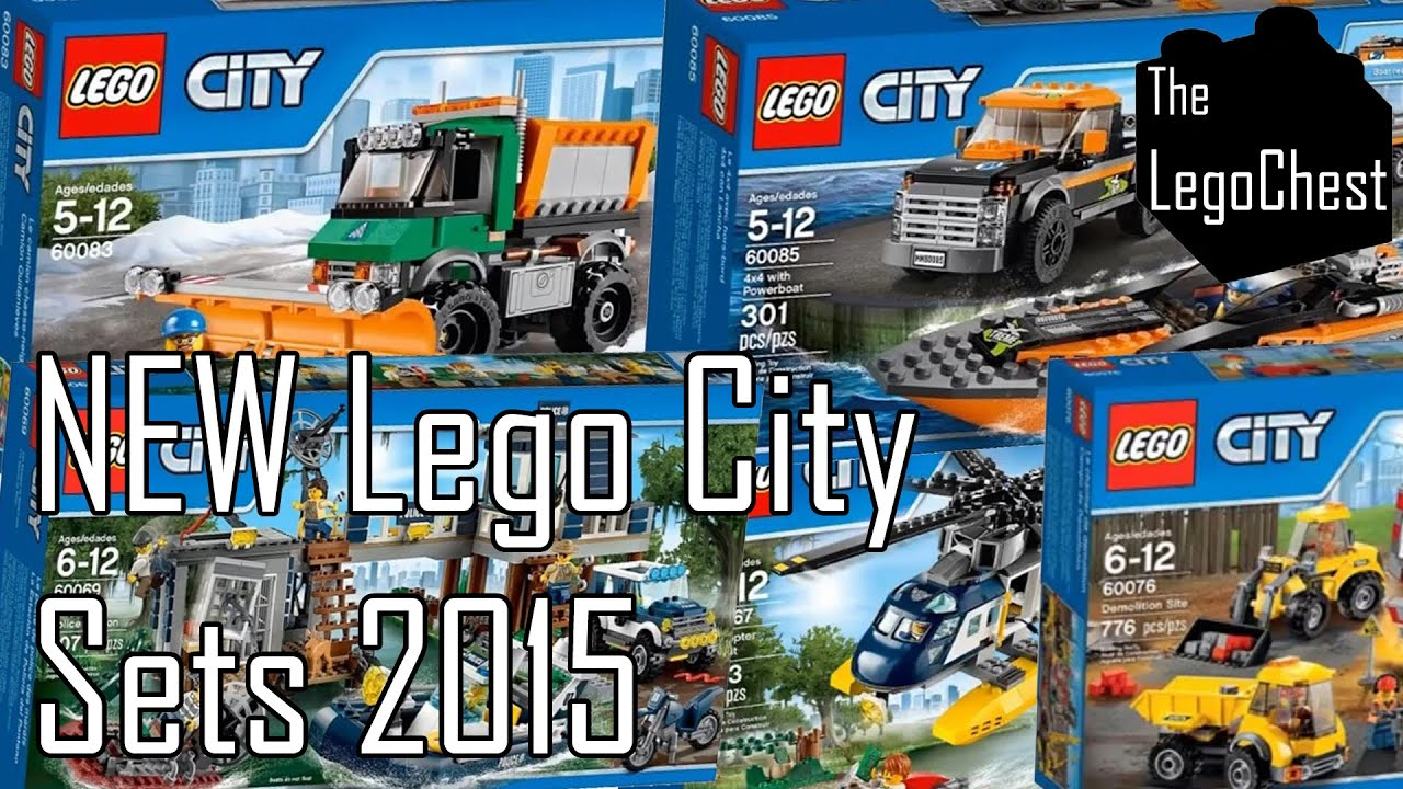 lego city 2015 sets pictures youtube. Black Bedroom Furniture Sets. Home Design Ideas
