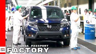2019 Honda Passport Factory