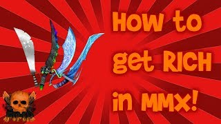 Comment devenir RICH dans ROBLOX MMX!!! (TRAVAUX!)