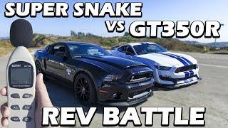GT350R VS GT500 Super Snake thumbnail