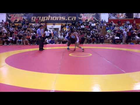 2014 Canada Cup: 57 kg Chris Waltner (CAN) vs. Dillon Williams (CAN)