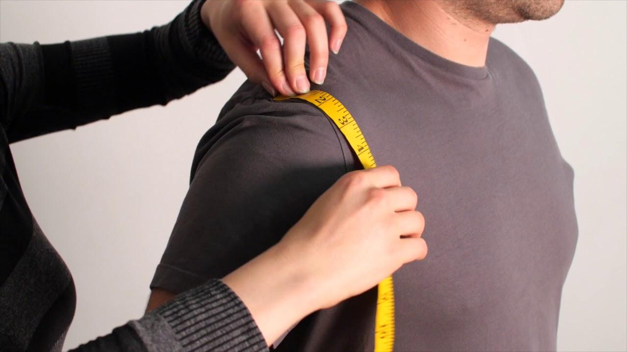 How do you measure armpit to armpit?