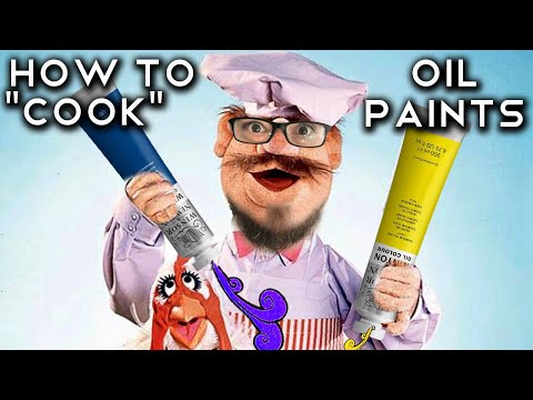 How to dry oil paint QUICKLY! Miniature heated box