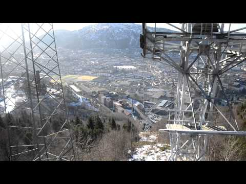 Cable Car Ride to Ulriken - Bergen, Norway (FANA-Oslo)