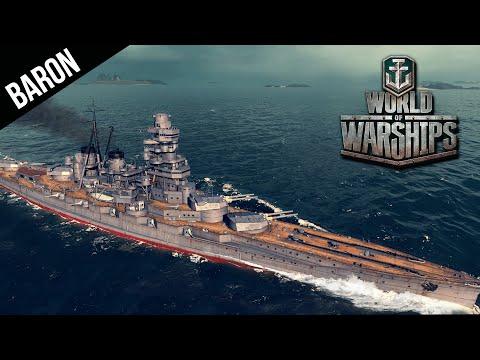 World of Warships Battleship Gameplay - Kongo Brings Honor to My Family!