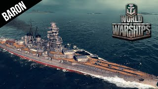 World of Warships Battleship Gameplay - Kongo Brings Honor to My Family!