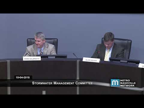 10/04/18 Stormwater Management Committee