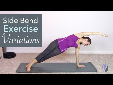 Side Bend Pilates Exercise