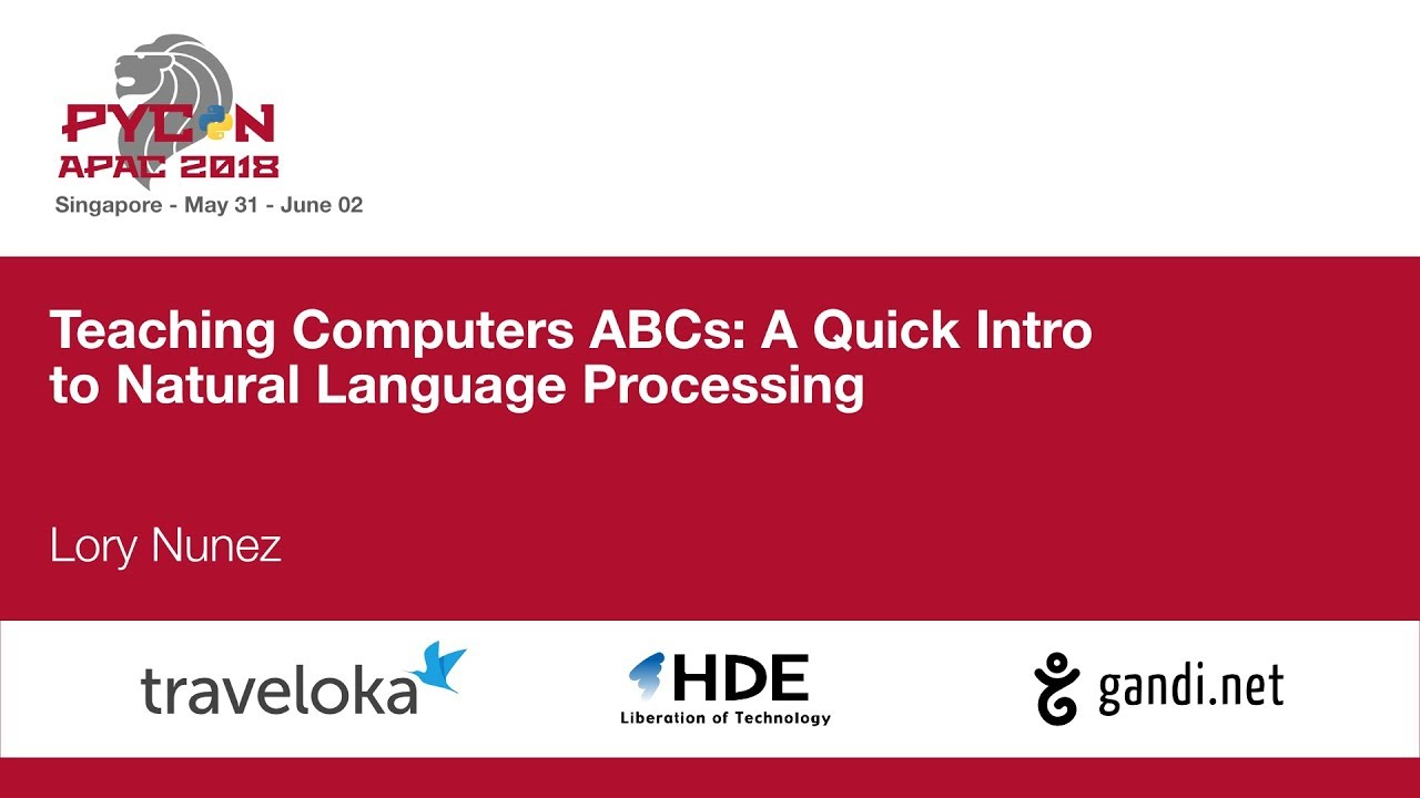 Image from Teaching Computers ABCs: A Quick Intro to Natural Language Processing