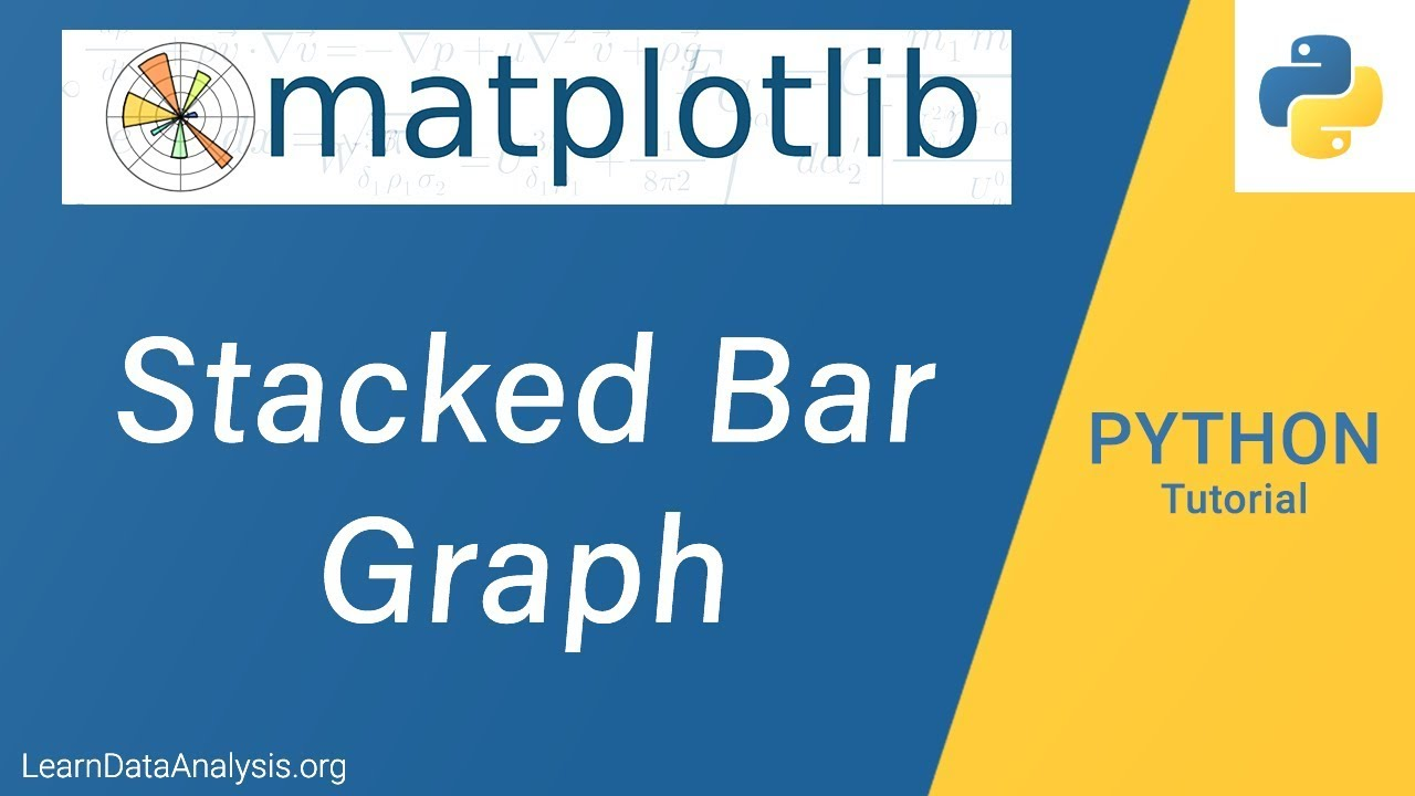 Create Stacked Bar Chart in Python | Python Tutorial