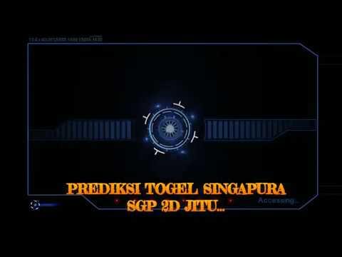 Rumus Togel Singapura SGP 2D jitu