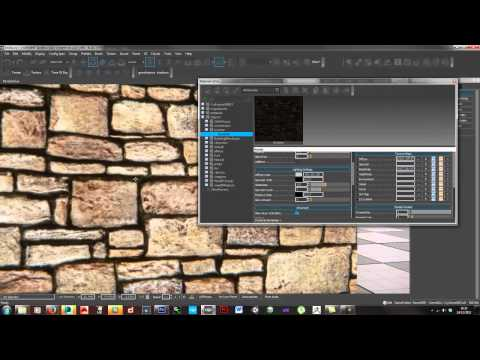 Material Definition - making bricks in cryengine with Parallax occlusion mapping