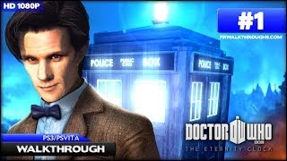 Doctor Who: The Eternity Clock Walkthrough - Bank of England (PS3/PSVita) [1080p HD]