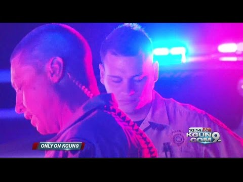 Night on patrol with rookie deputy in the Pima County Sheriff's Department