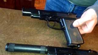 Пневматический пистолет Аникс 101, 101м, 101ЛБ