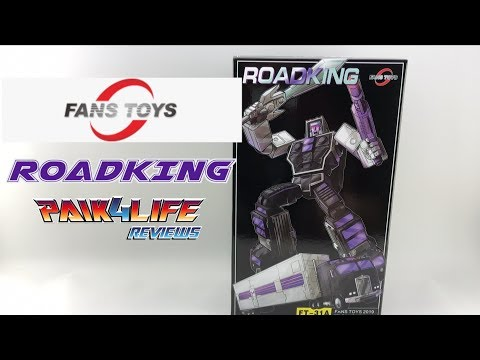 Transformers Review: Fans Toys FT-31A Roadking // P4L Reviews