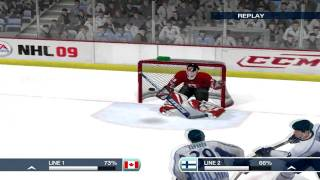 NHL 09 - Gameplay GTX295 Maxed Out 1080p PC HD