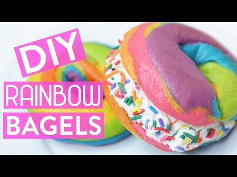 Save DIY RAINBOW BAGELS Screenshots