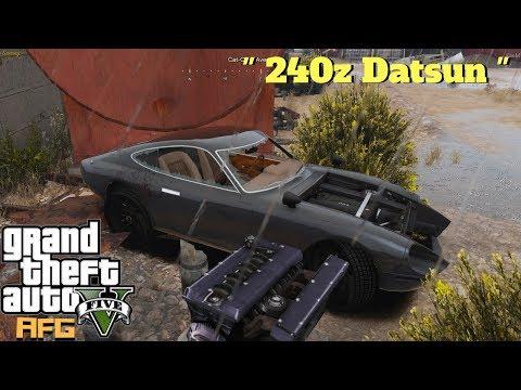 GTA 5 Roleplay - Junk Yard Find 240z - EP. 55  - CV