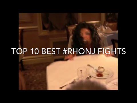 Best Housewives Fights | (Episode 1) | Top 10 Best #RHONJ Fights from (Seasons 1-10)