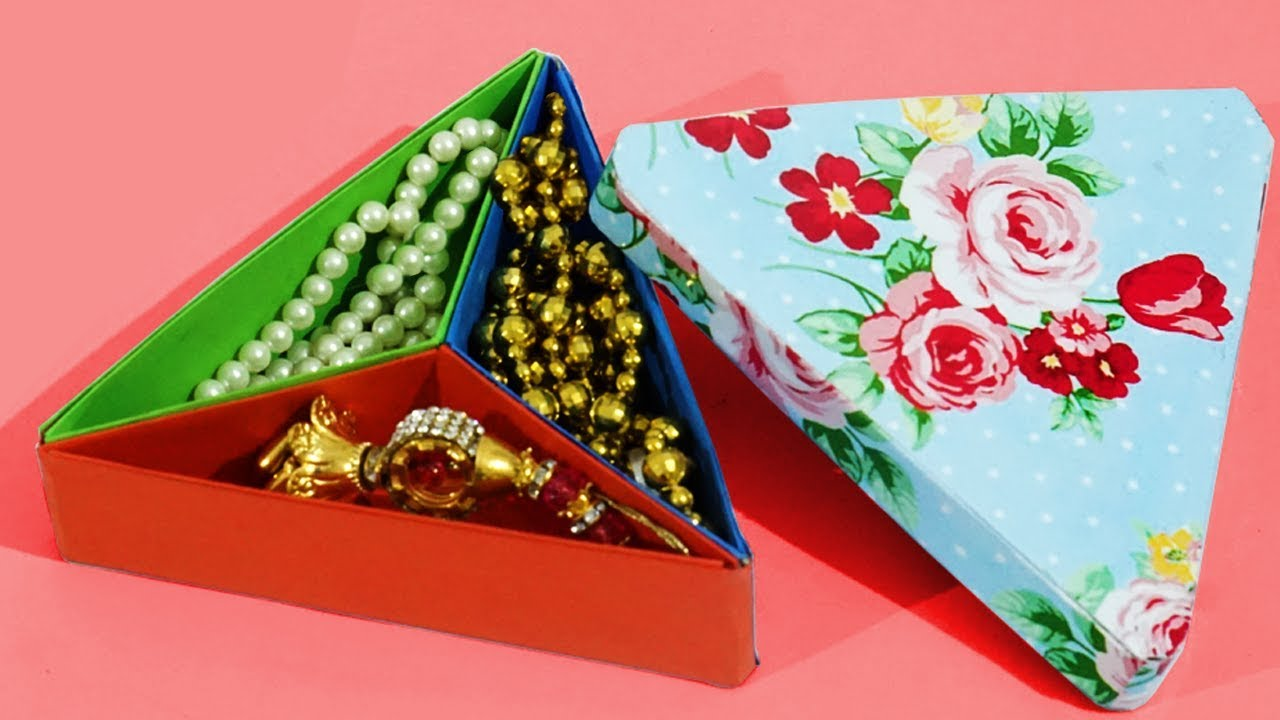 Best Out Of Waste Ideas Handmade Gift Box Cum Diy Organiser Art