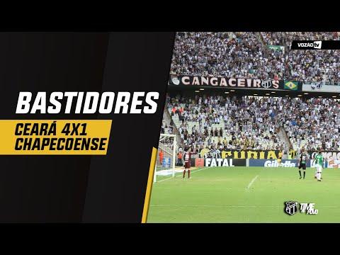 BASTIDORES Ceará 4x1 Chapecoense