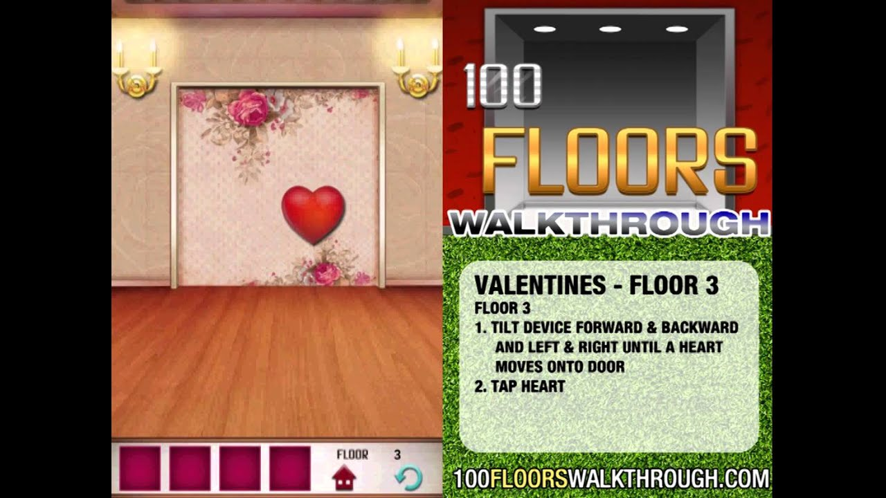 100 Floors Valentines Special Floor 3 Seasons Tower