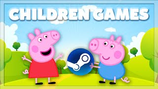 I bought child friendly games on Steam