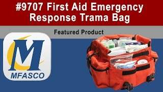 9707 First Aid Kit Emergency Response Trauma Bag Complete