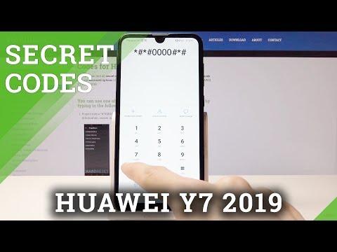 Codes HUAWEI Y9 (2019) - HardReset info