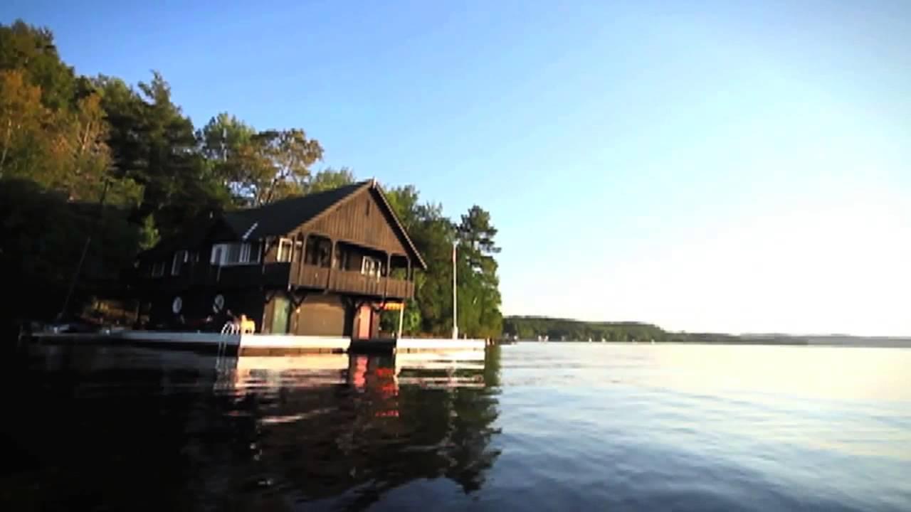 lake of bays  muskoka cottage rental youtube