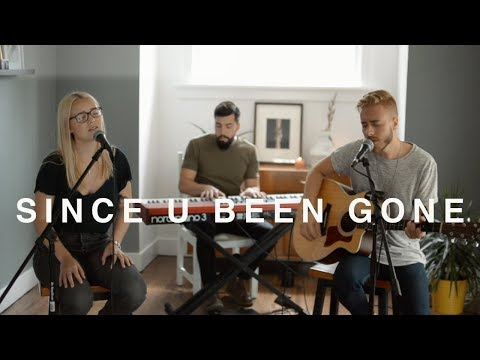 Kelly Clarkson - Since U Been Gone (Acoustic Cover) - Jonah Baker and Addison Agen