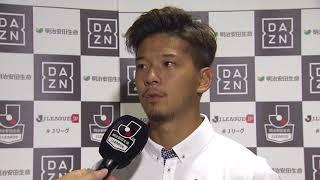 2017年9月9日(土)に行われた明治安田生命J1リーグ 第25節 甲府vs清...