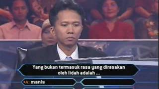 Adhi Hartono @Who Wants to be A Millionaire Winner Indonesia screenshot 4