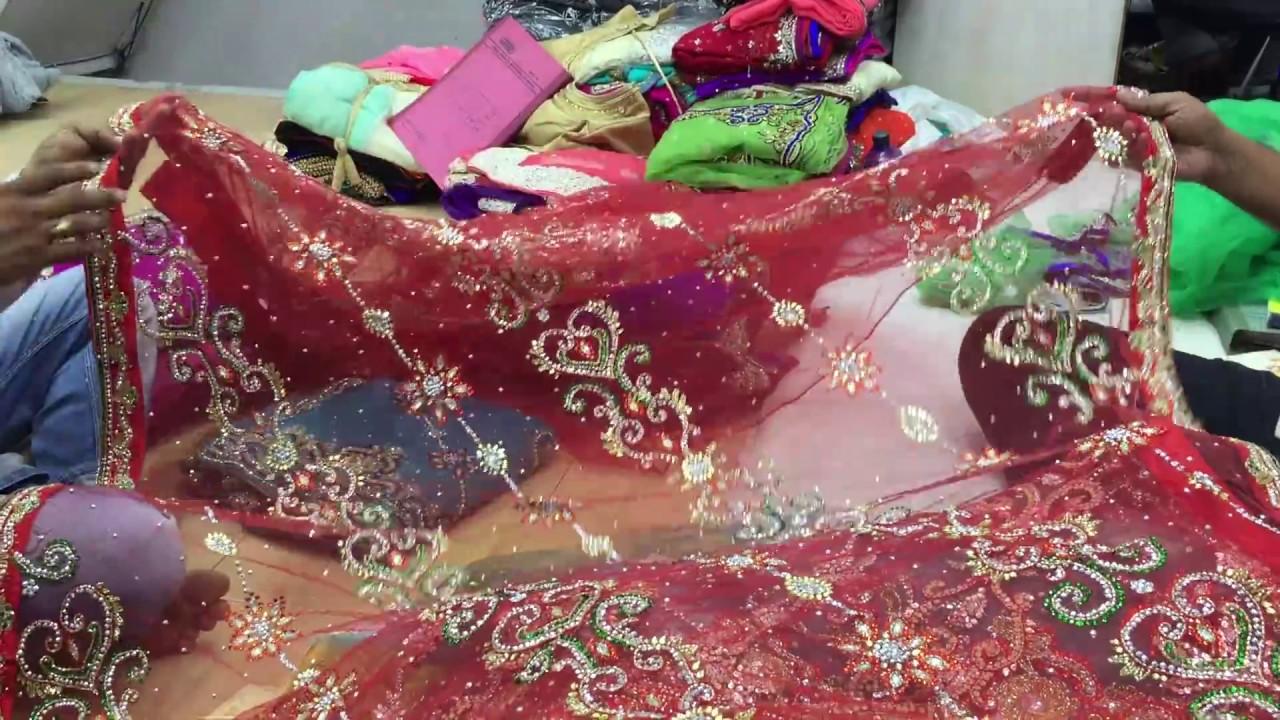 f9f6148f5c latest designer stone work saree for wedding and bridal surat sari in  wholesale price6