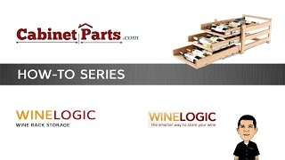 How To Install Wine Logic 18 Bottle Wine Rack - Cabinetparts.com