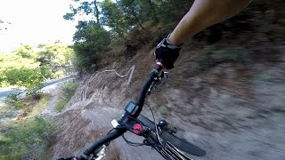 Riding MTB at the Forests of İzmir/Turkey